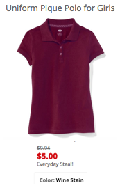 Uniform Pique Short Sleeve Polo for Girls.png